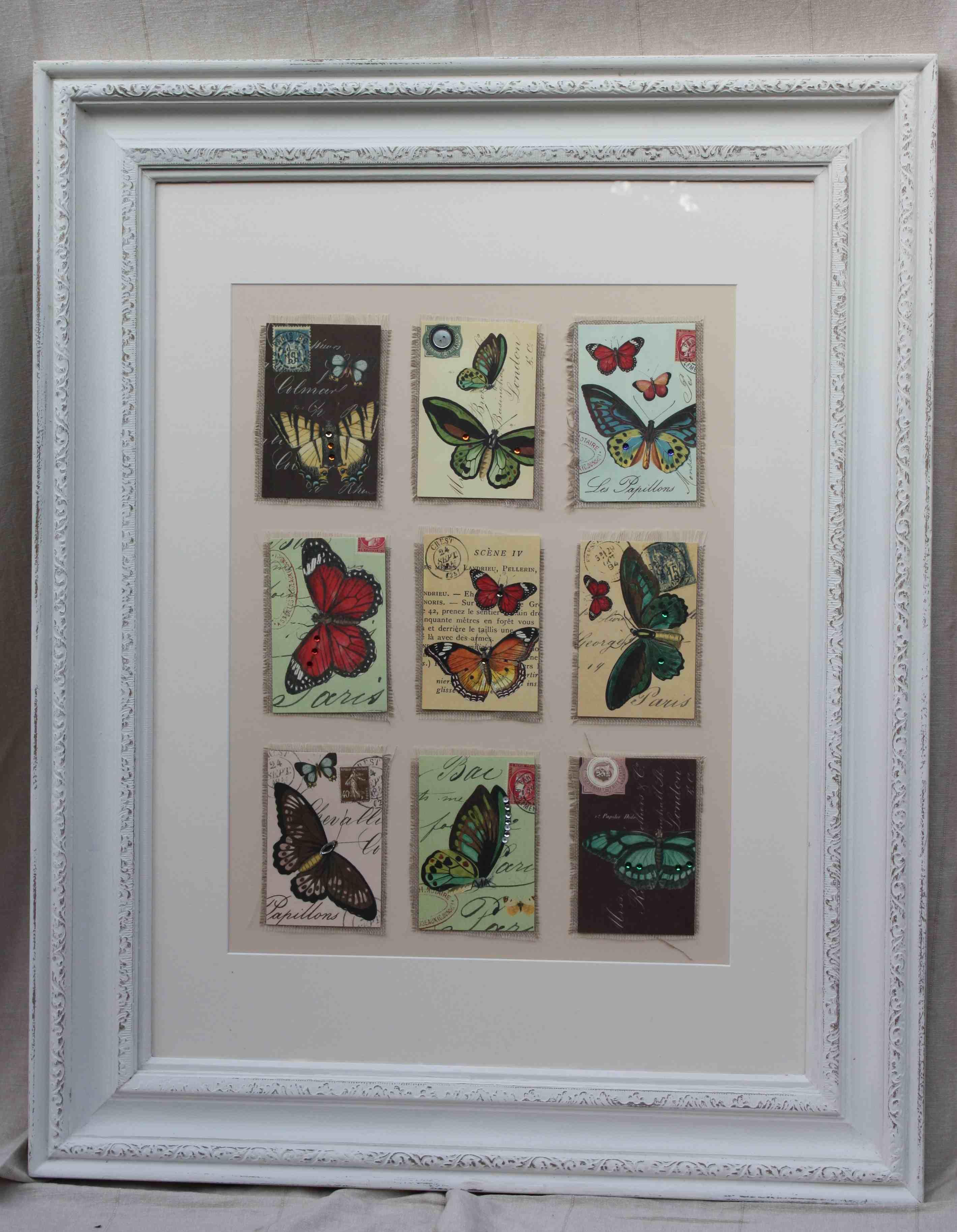 vintage picture frames; original vintage art | createvintage