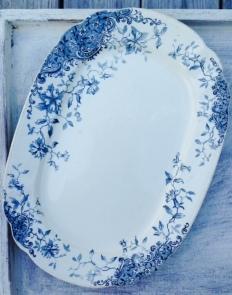 oblong platter